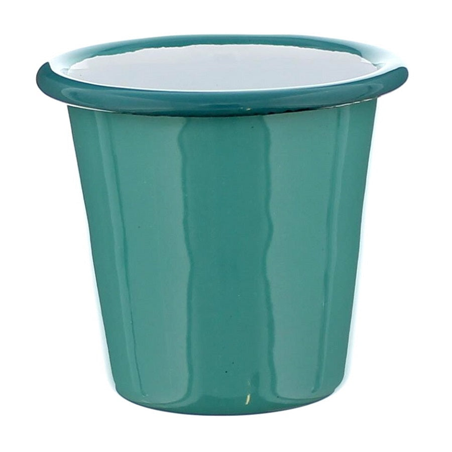 Green Falcon Enamelware Mini Tumbler