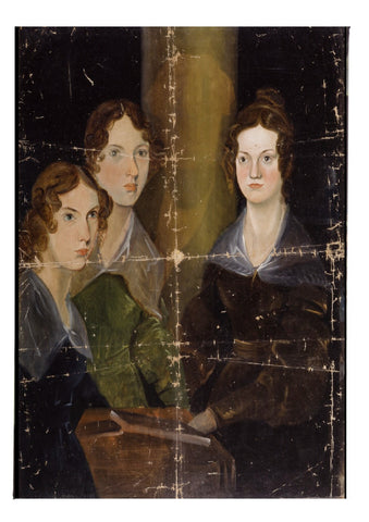 The Brontë Sisters Fridge Magnet