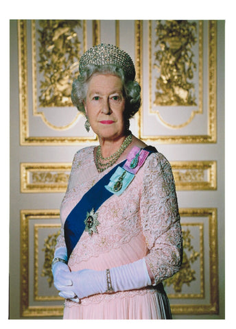 Queen Elizabeth II Fridge Magnet