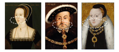Face Coverings: Tudor - Pack of 3
