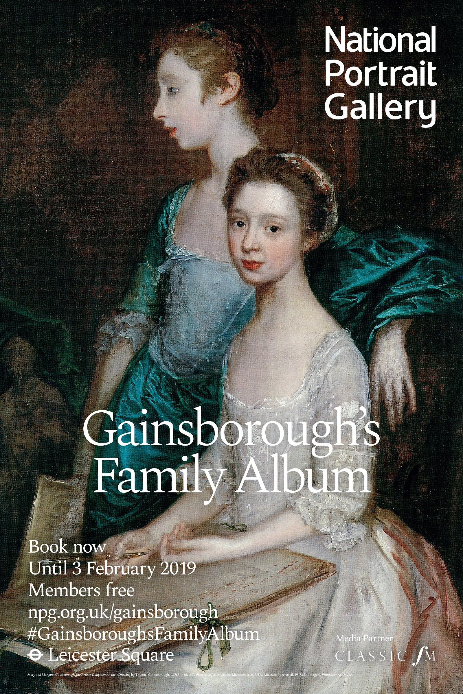 Gainsborough's Family Album Exhibition Poster
