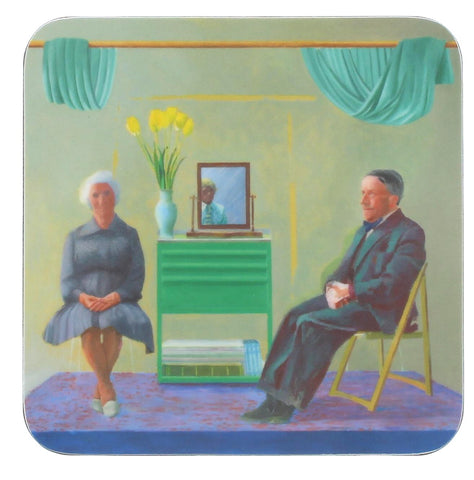 David Hockney Coaster