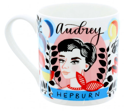 Audrey Hepburn Illustrated Mug
