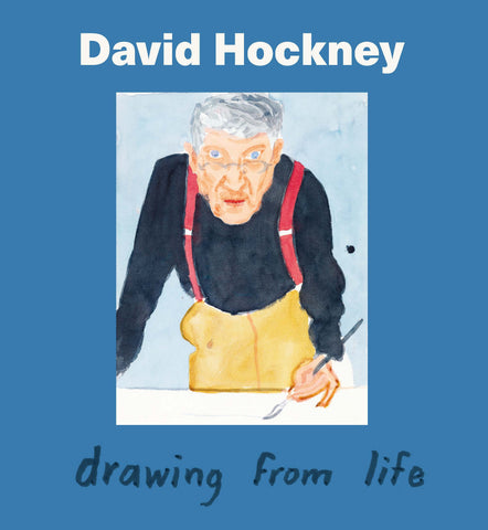 David Hockney: Drawing From Life Hardcover Catalogue
