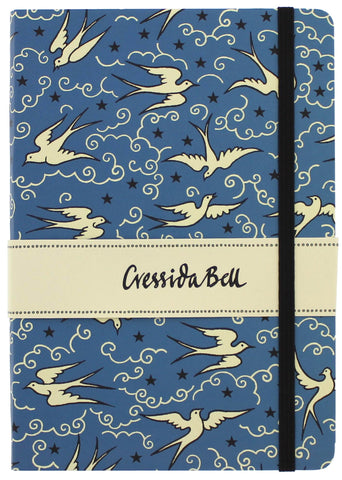 Cressida Bell Bluebirds Lined Journal