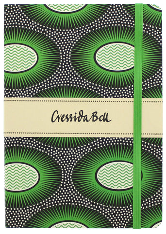 Cressida Bell Eclipse (Green) Lined Journal