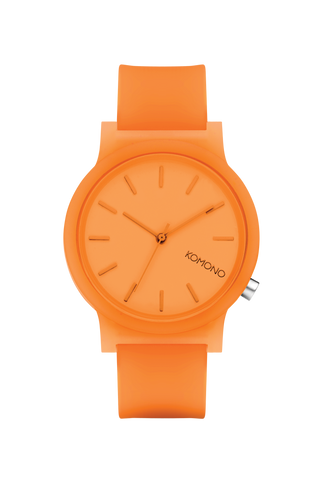Orange Komono Mono Watch