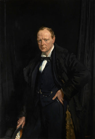 Winston Churchill NPG L250 Portrait Print