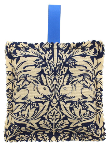 Blue William Morris Fabric Lavender Bag
