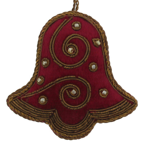 Maroon Bell Decoration