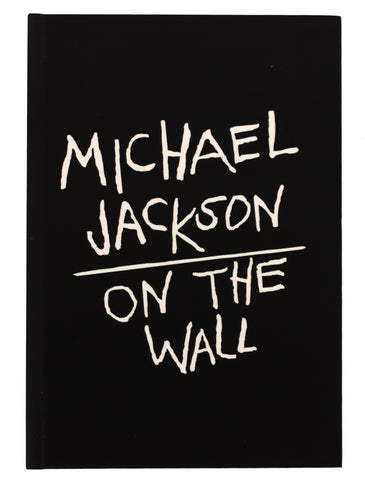 Michael Jackson On the Wall Black Hardback Journal