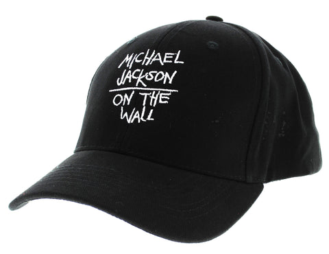 Michael Jackson On the Wall Black Cap