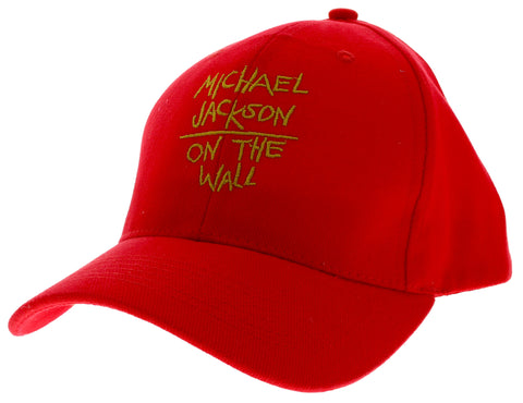 Michael Jackson On the Wall Red Cap