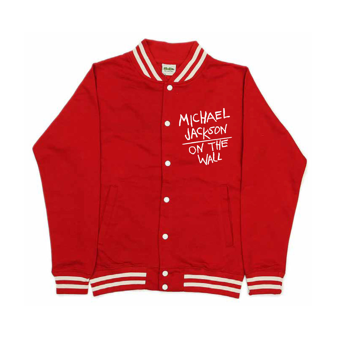 Michael Jackson On the Wall Red Jacket
