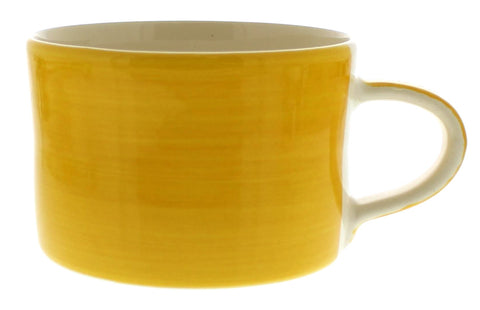 Musango Yellow Plain Wash Mug