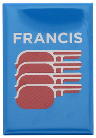 Francis (Bacon) Fridge Magnet
