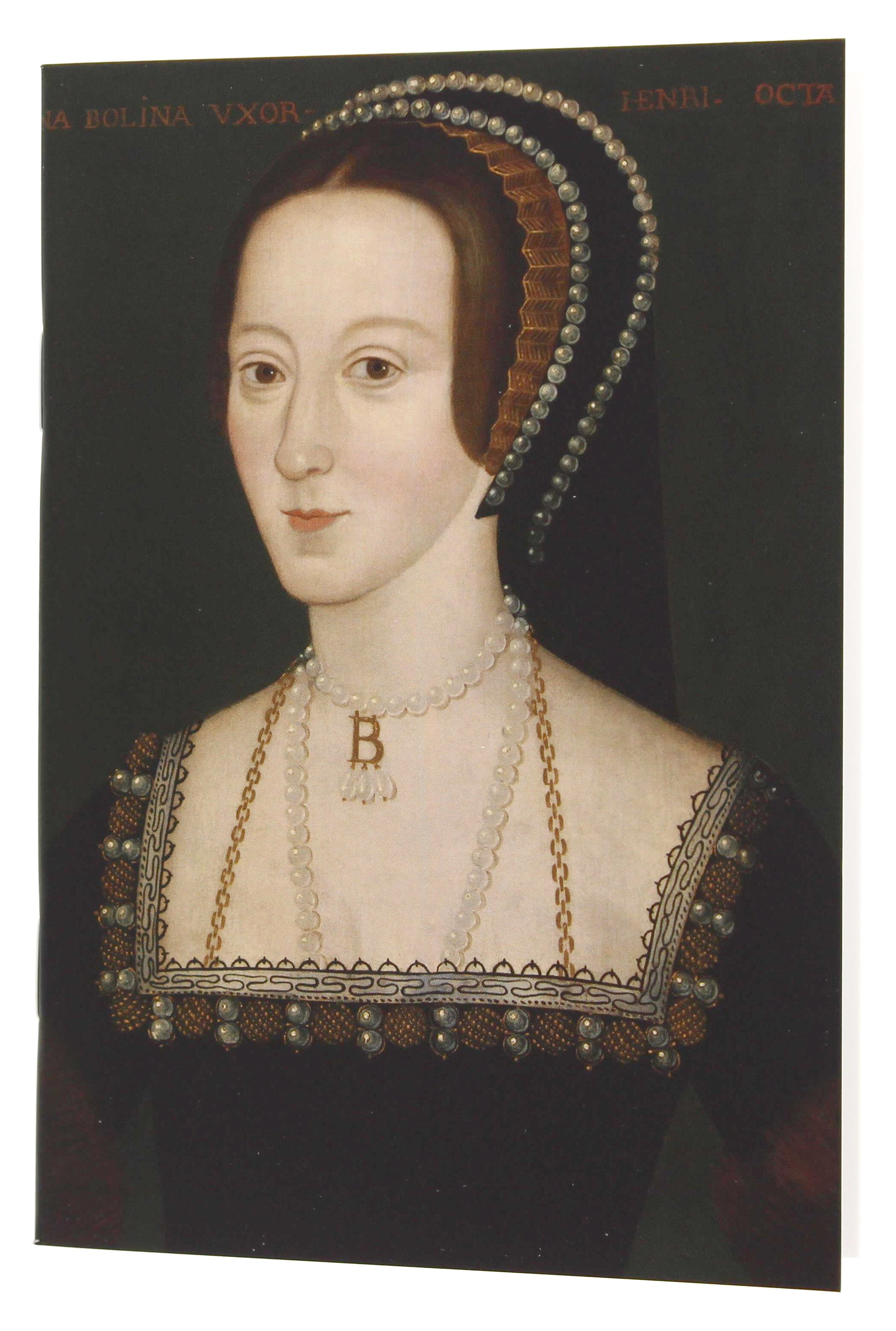 Anne Boleyn A6 Blank Notebook