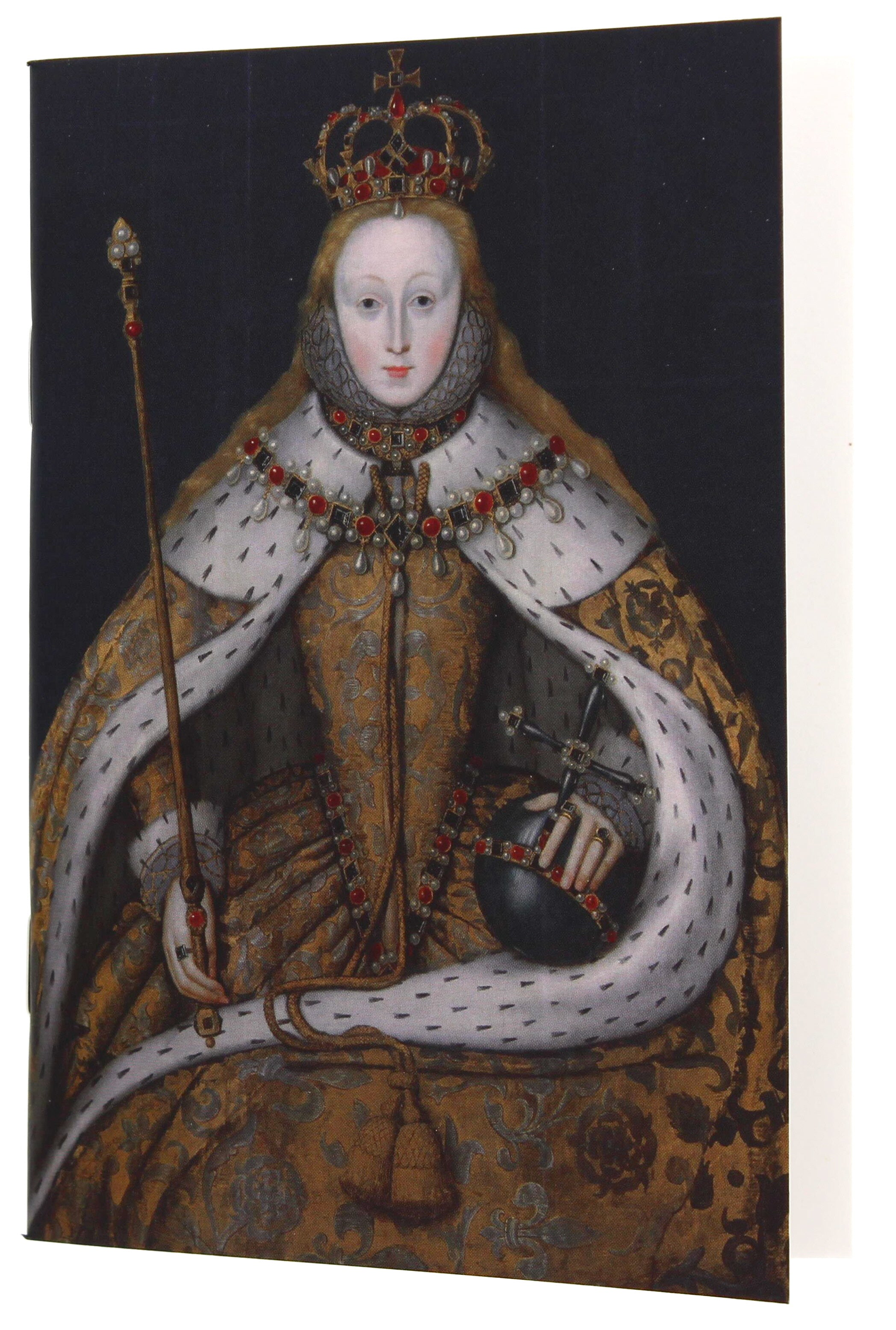 Queen Elizabeth I A6 Blank Notebook