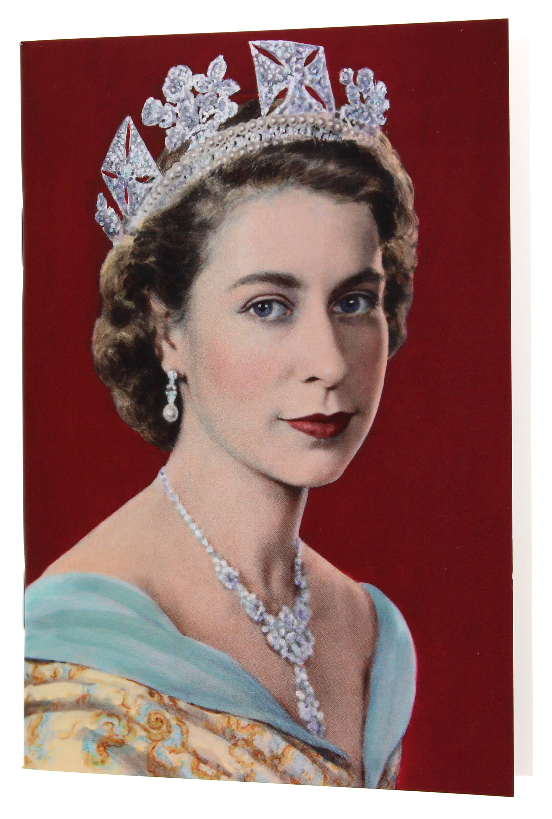 Queen Elizabeth II A6 Blank Notebook