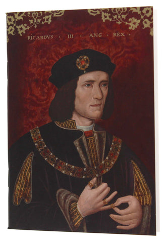 King Richard III A6 Blank Notebook
