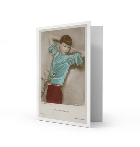 Anna May Wong Greetings Card