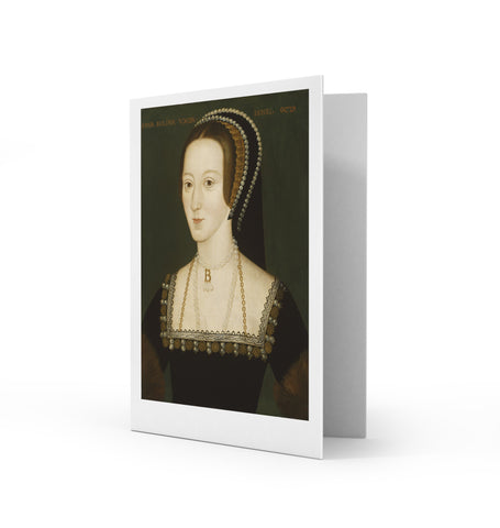 Anne Boleyn Greetings Card