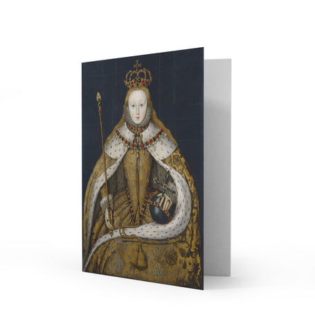 Queen Elizabeth I Greetings Card