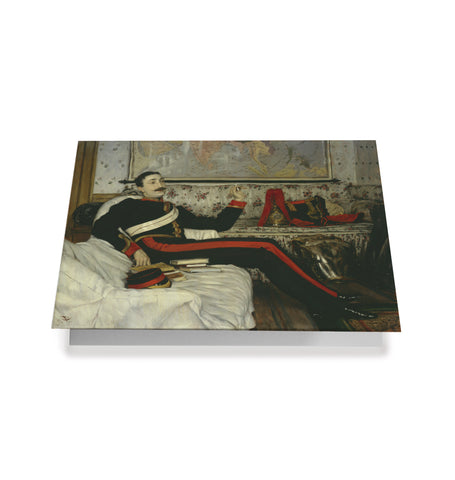 Frederick Burnaby Greetings Card