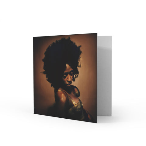 Mica Paris Greetings Card