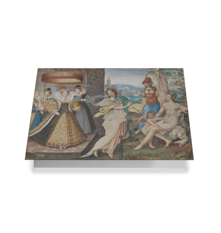 Queen Elizabeth I and the Three Goddesses' Greetings Card