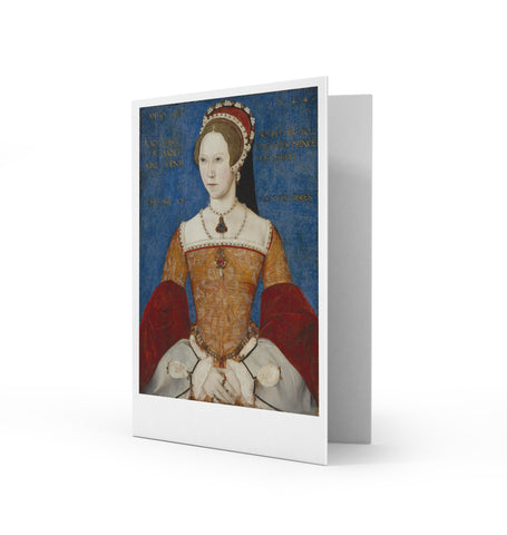 Mary I Greetings Card