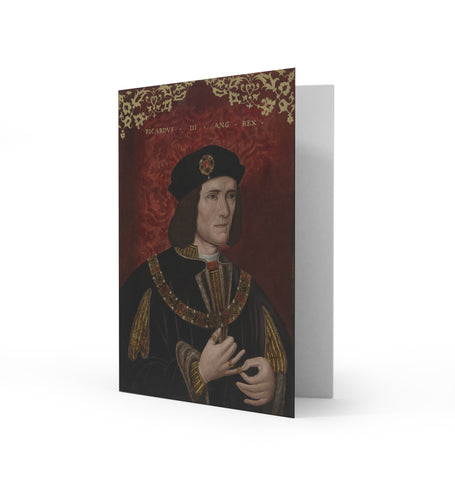 King Richard III Greetings Card