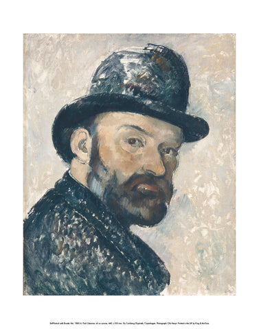 Self-Portrait with Bowler Hat, 1885-6 Mini-print