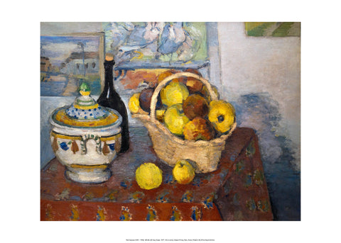Still Life with Soup Tureen, 1877 Poster
