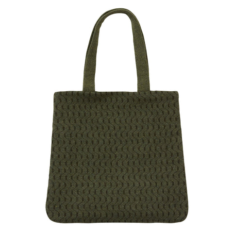 Handmade Knitted Merino Wool Bag