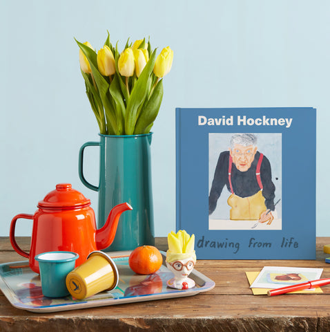David Hockney Egg Cup
