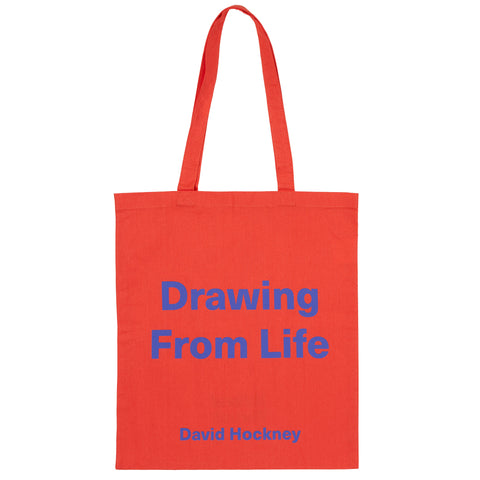 Hockney Drawing From Life Tote Bag