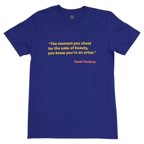 David Hockney Quote T-Shirt