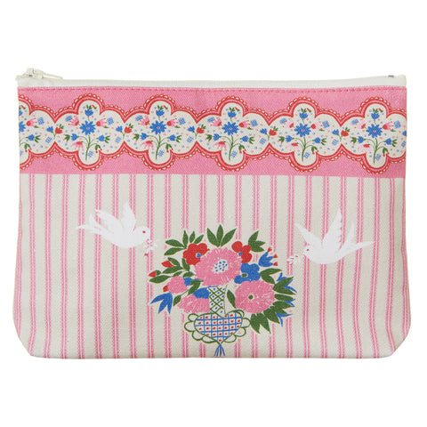 Celia Birtwell Doves Pouch