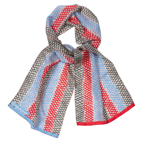Celia Birtwell Let's Twist Again Silk Scarf