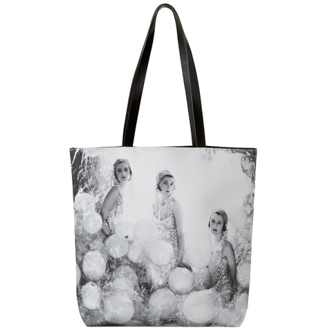 The Silver Soap Suds Tote Bag