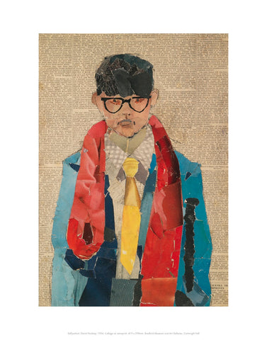 David Hockney Self-portrait Mini-print