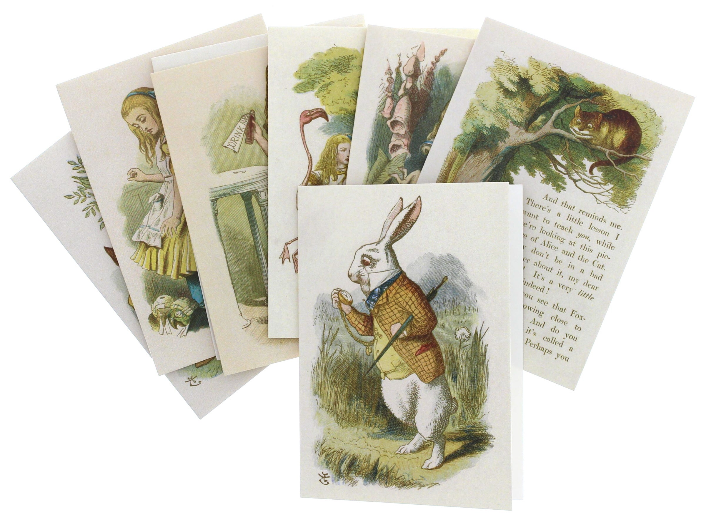 Alice in Wonderland Notecards