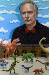 Nick Park and the Dinosaur Gallery, animator (unframed)