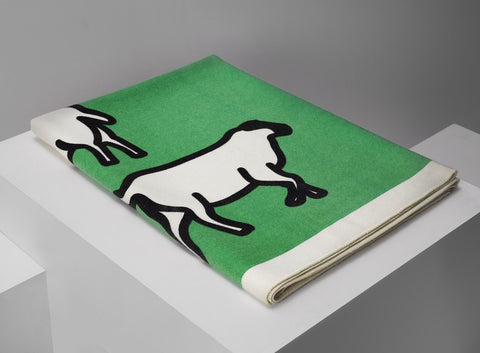 Julian Opie Sheep Blanket, 2014