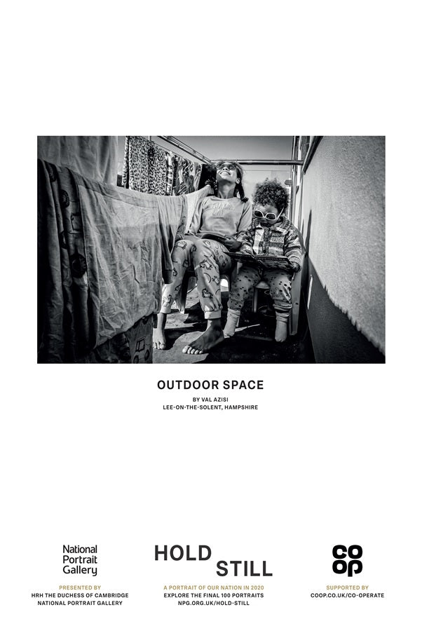 Outdoor Space - Hold Still Poster
