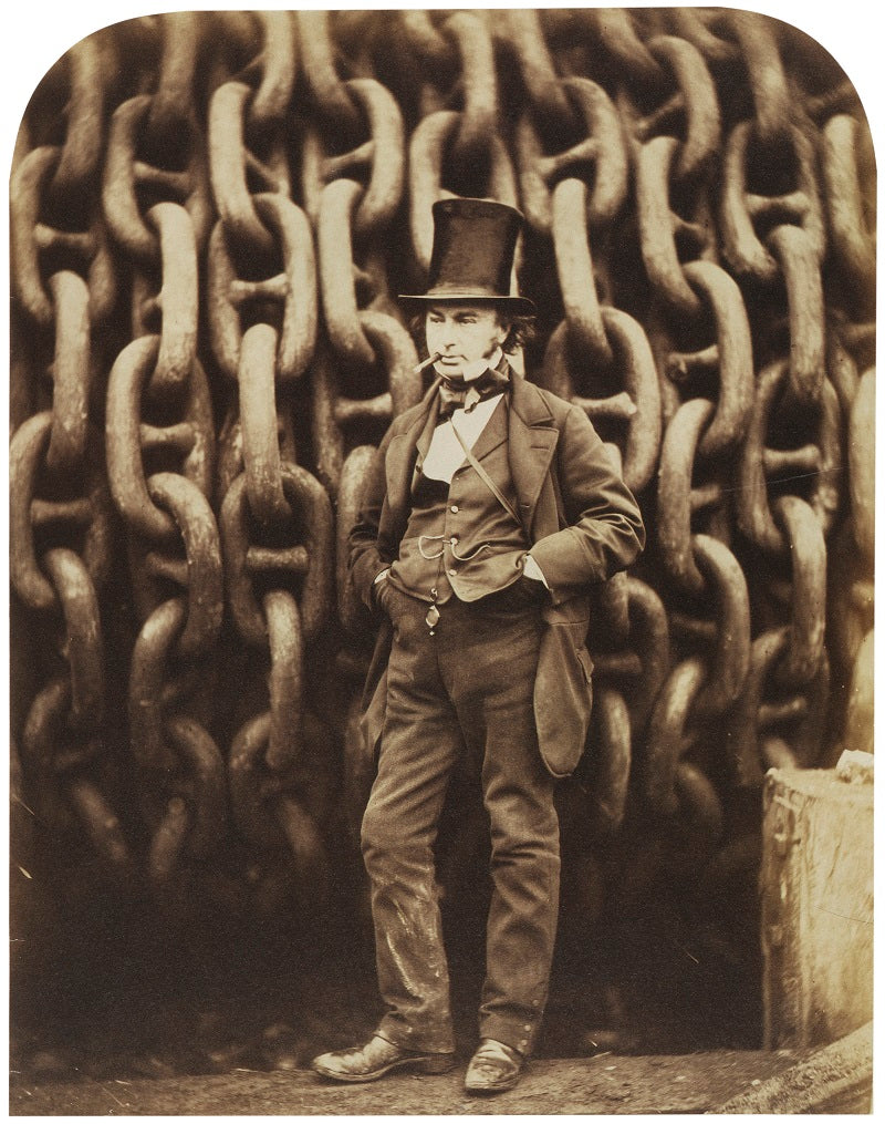 Isambard Kingdom Brunel NPG P112 Portrait Print