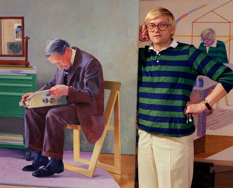 David Hockney NPG P1183 Portrait Print