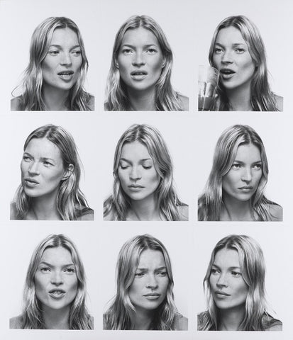 Kate Moss NPG P1274 Portrait Print