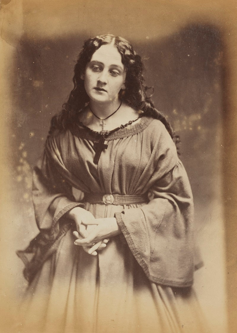 'A devotee' (Unknown woman) NPG P2011(4) Portrait Print